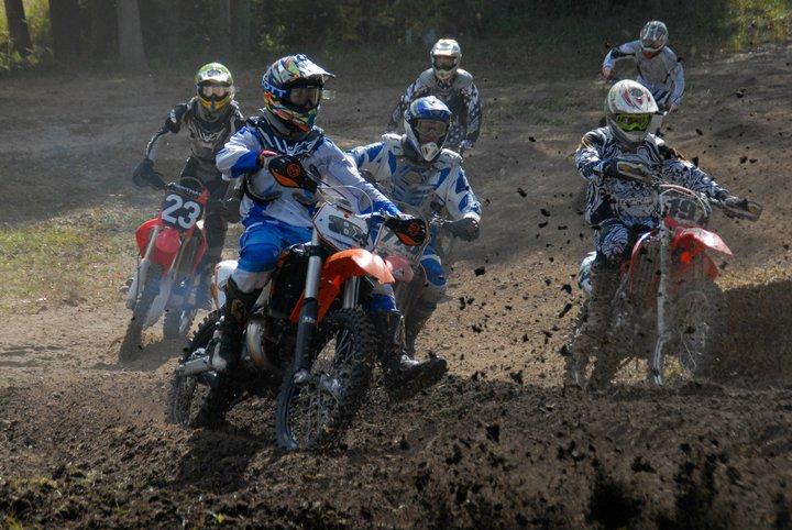 Matt racing motocross